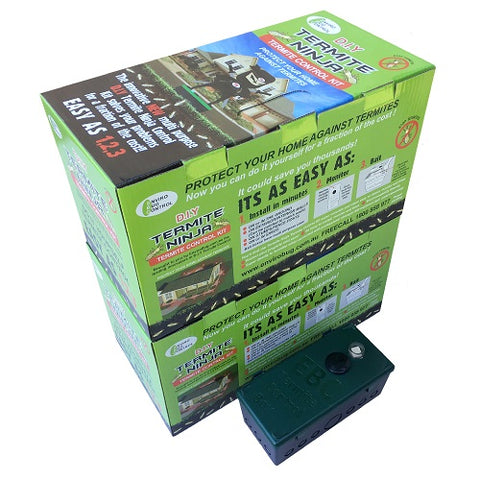 18 Pack Termite Ninja Medium House Kit - Super Spring Special - Save an extra $150 - Envirobug
