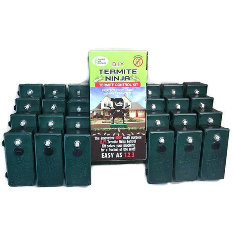 Termite Ninja Multi-Purpose Traps - DIY Large House 24 Pack - Termite Traps