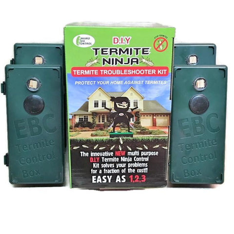 Termite Ninja Muilti-Purpose - DIY Troubleshooter 4 Pack - Termite Traps