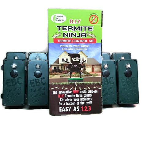 Termite Ninja Multi-Purpose - DIY Small House 8 Pack - Termite Traps