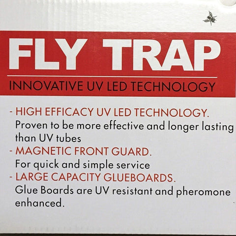 EBC Electronic NEW DIY Commercial Fly and Insect Trap - Four Pack - Envirobug