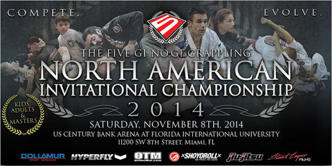 FIVE Grappling North American Invitational