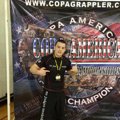 Ian Murray, Copa America Grappling Championships, No Judges Needed