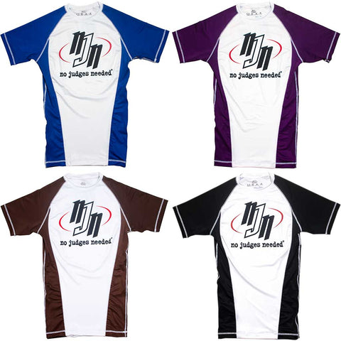 BJJ Ranked Rash Guards | No Judges Needed