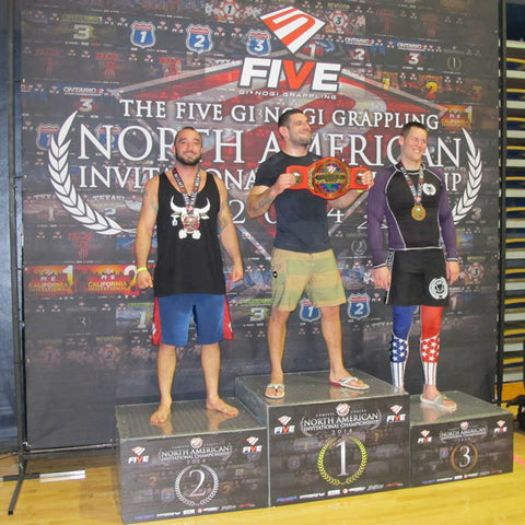 Robby Donofrio Five Grappling NAIC 2nd Place