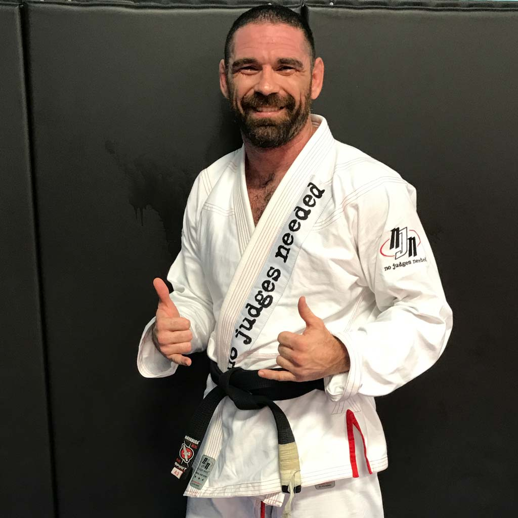 Super Lite BJJ Gi White | No Judges Needed