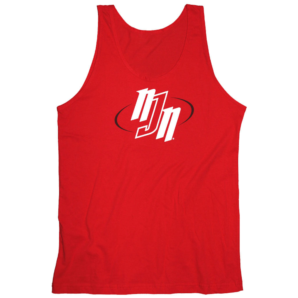 NJN Logo Red Tank Top | No Judges Needed