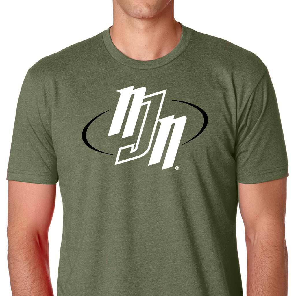 NJN T-shirt Sueded Military Green | No Judges Needed