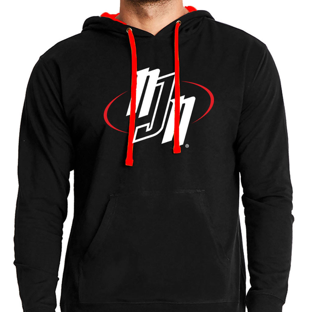 NJN Hoodie Black & Red | No Judges Needed