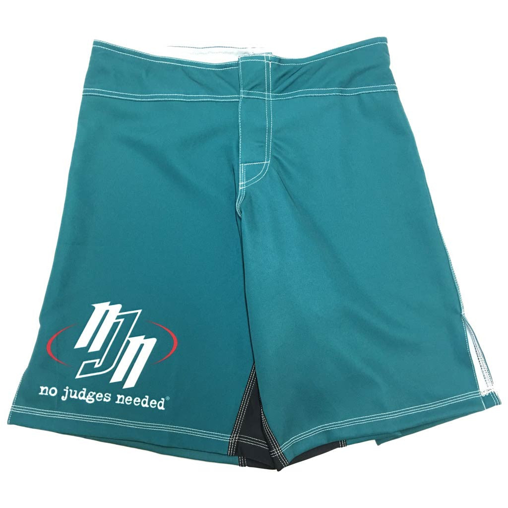 NJN Fight Shorts Series 2 Green | No Judges Needed