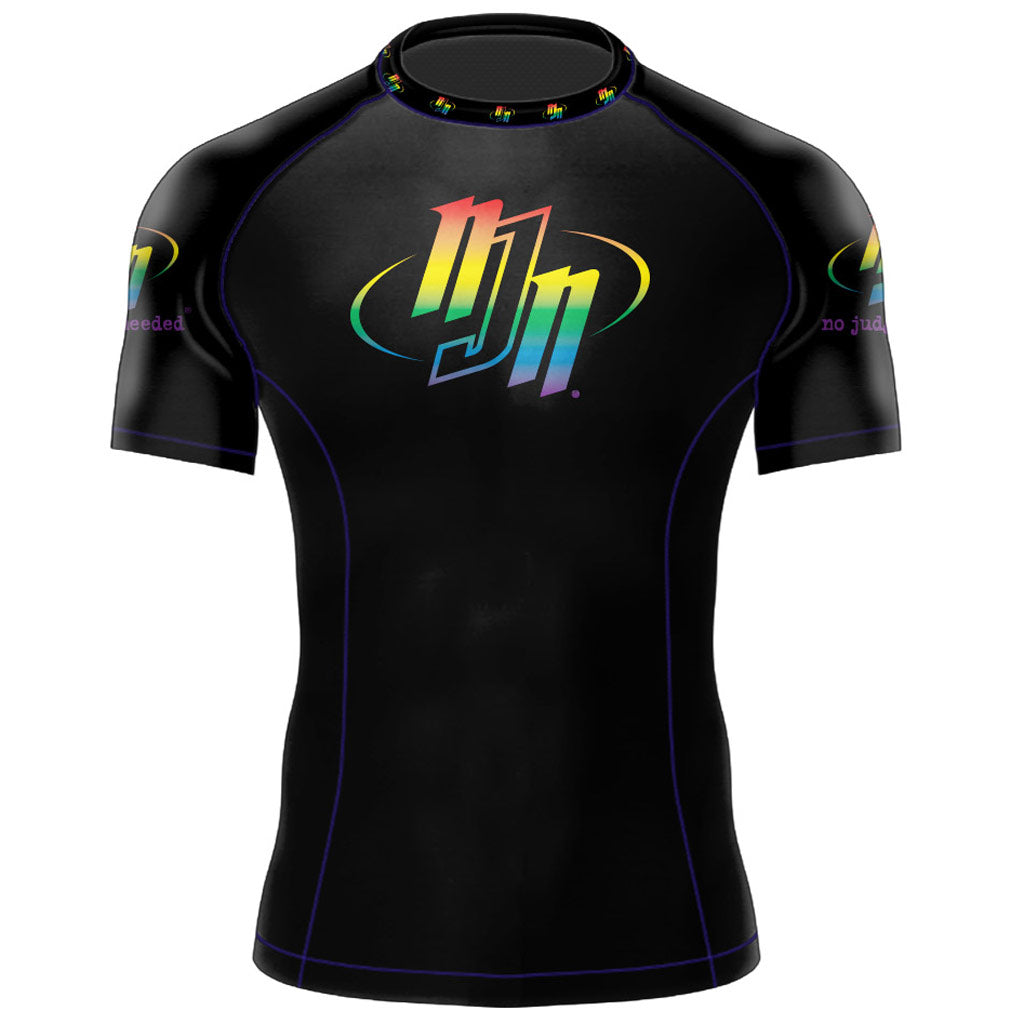 Rainbow Rash Guard | No Judges Needed