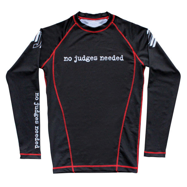 Women's BJJ Rash Guard | No Judges Needed