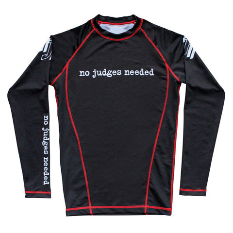 Women's Rash Guard Long Sleeve Black