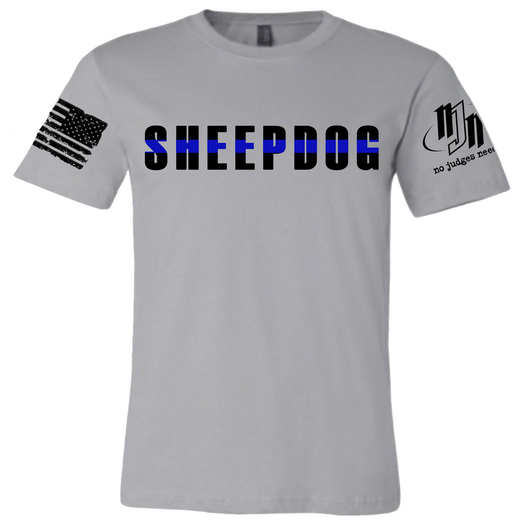Sheepdog Rules T-shirt | No Judges Needed