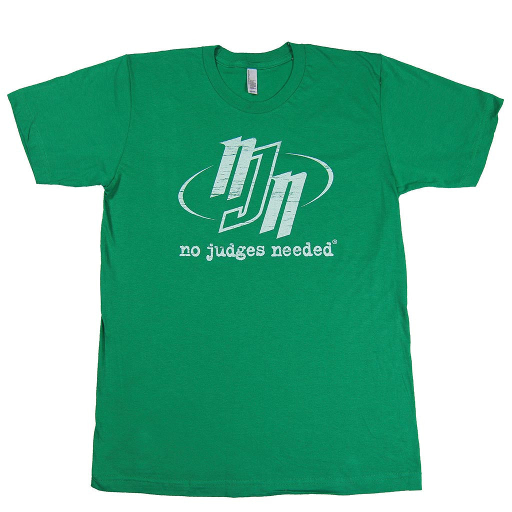 No Judges Needed Kelly Green T-Shirt