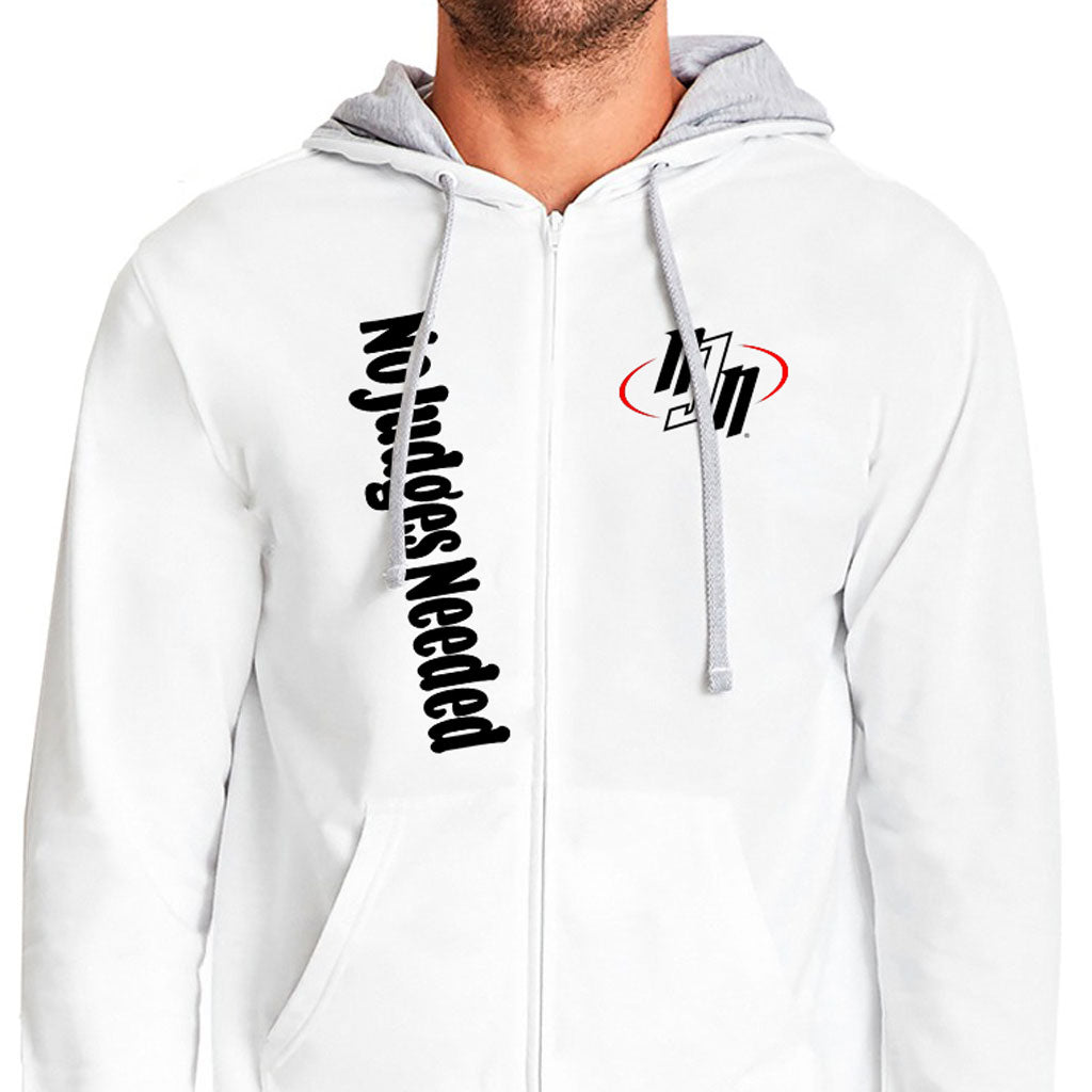 Zip Hoodie | No Judges Needed