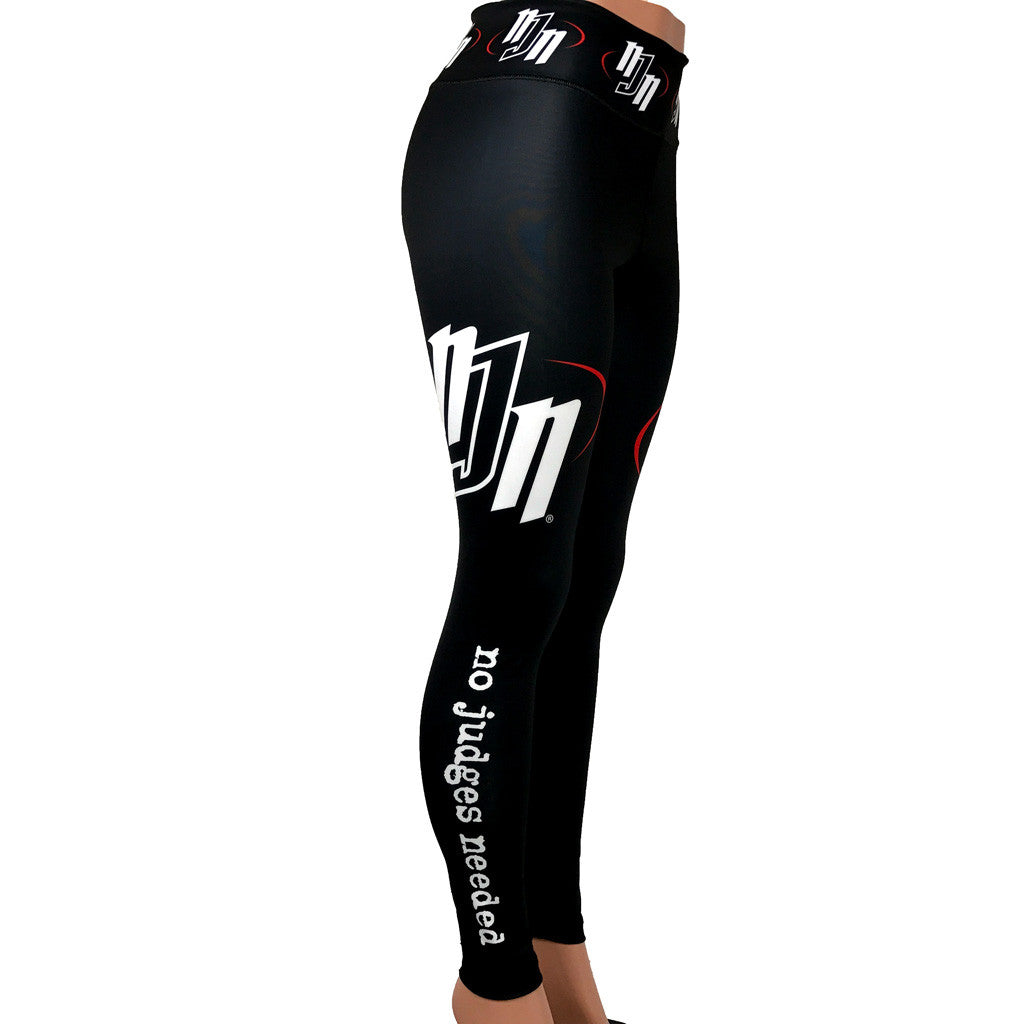 Women's Spats Black | No Judges Needed