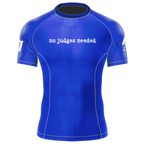 Womens Blue Rash Guard
