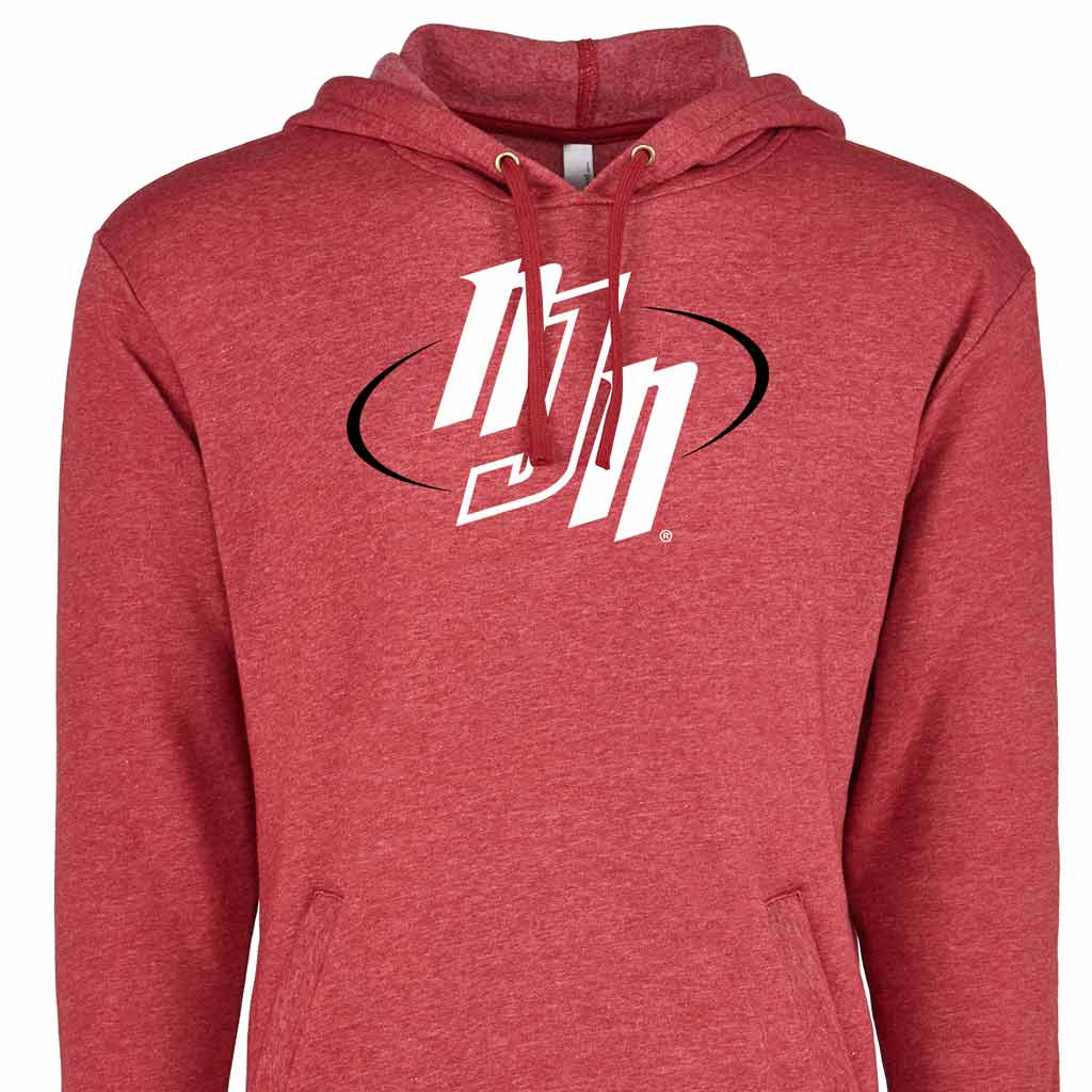 Pullover Hoodie-Cardinal Red-NJN | No Judges Needed