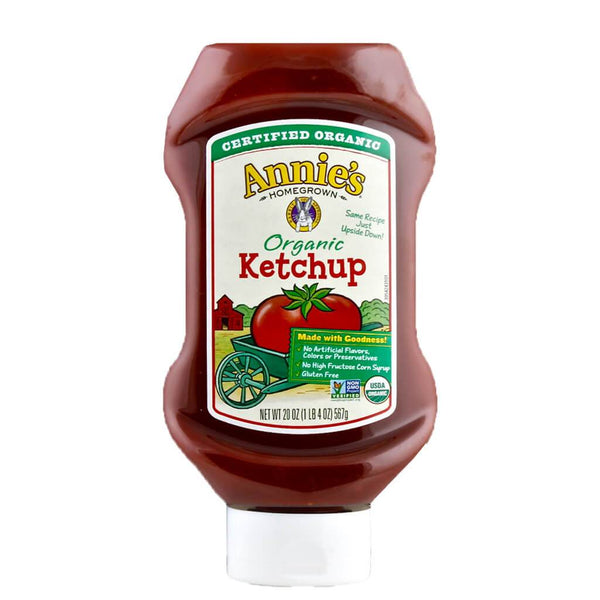 Annie's Homegrown, Catsup Orgánica, 567g