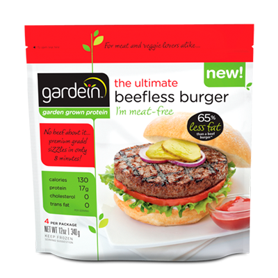 Beefless Burger
