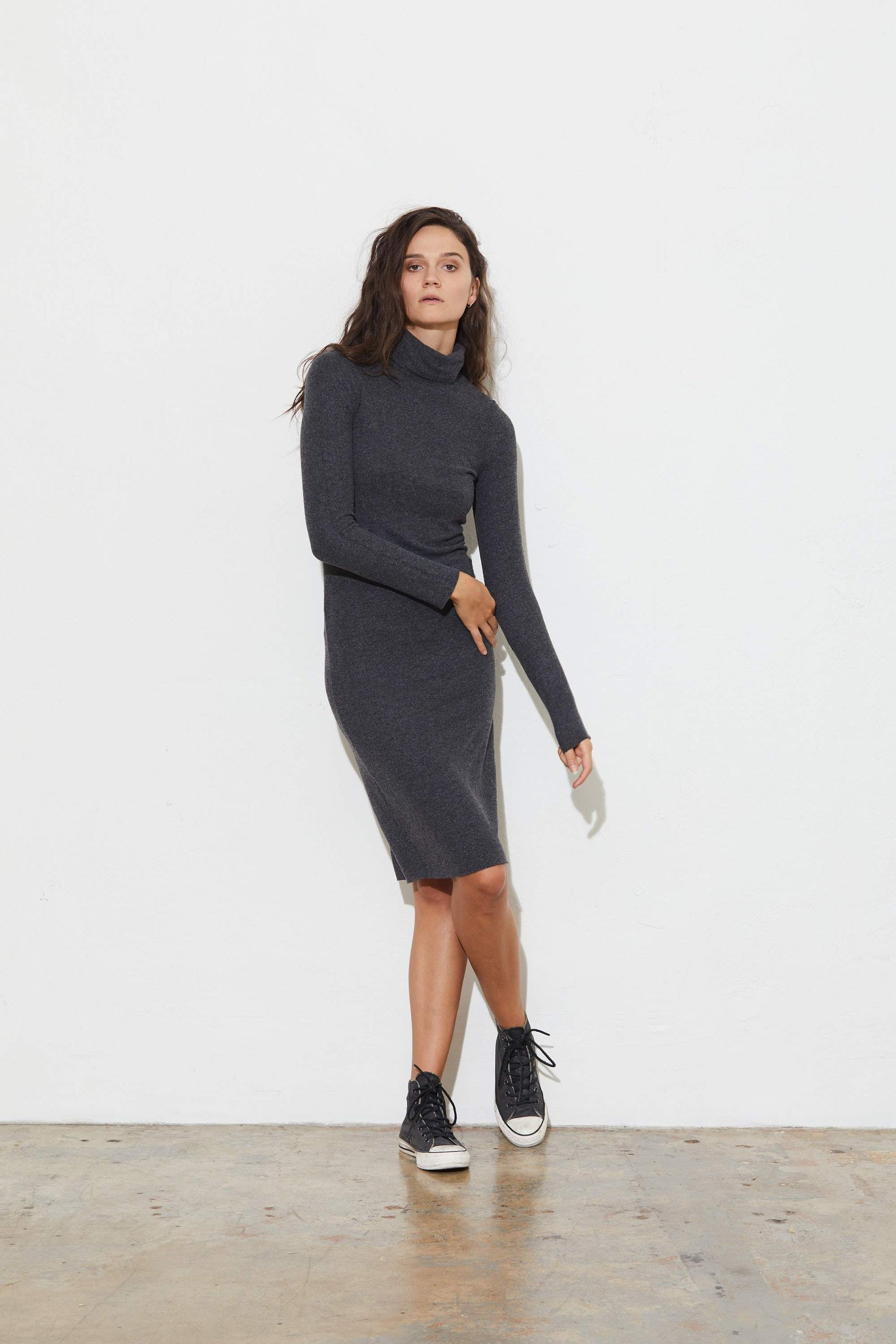 Pia Turtleneck Dress