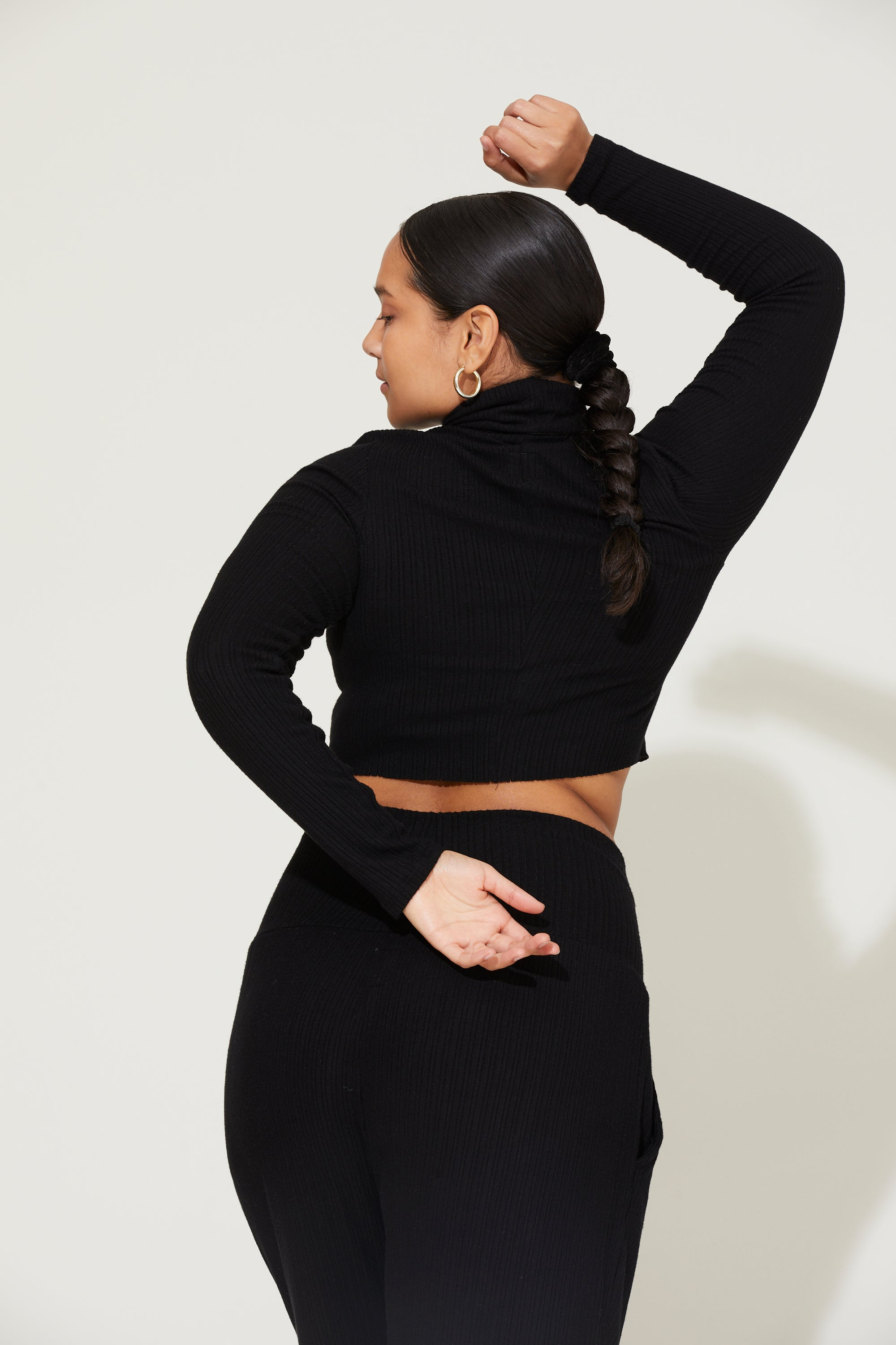 Bridget Turtleneck Crop Top