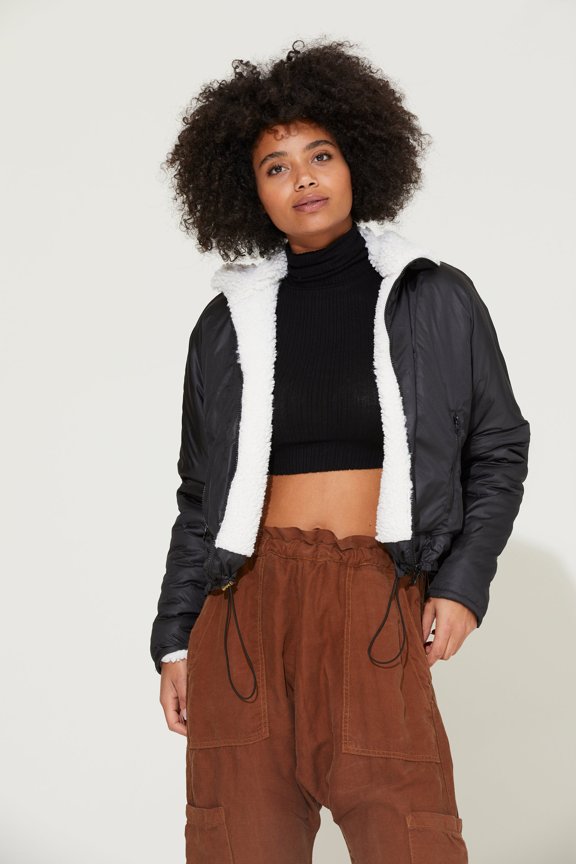 Dani Reversible Sherpa Jacket