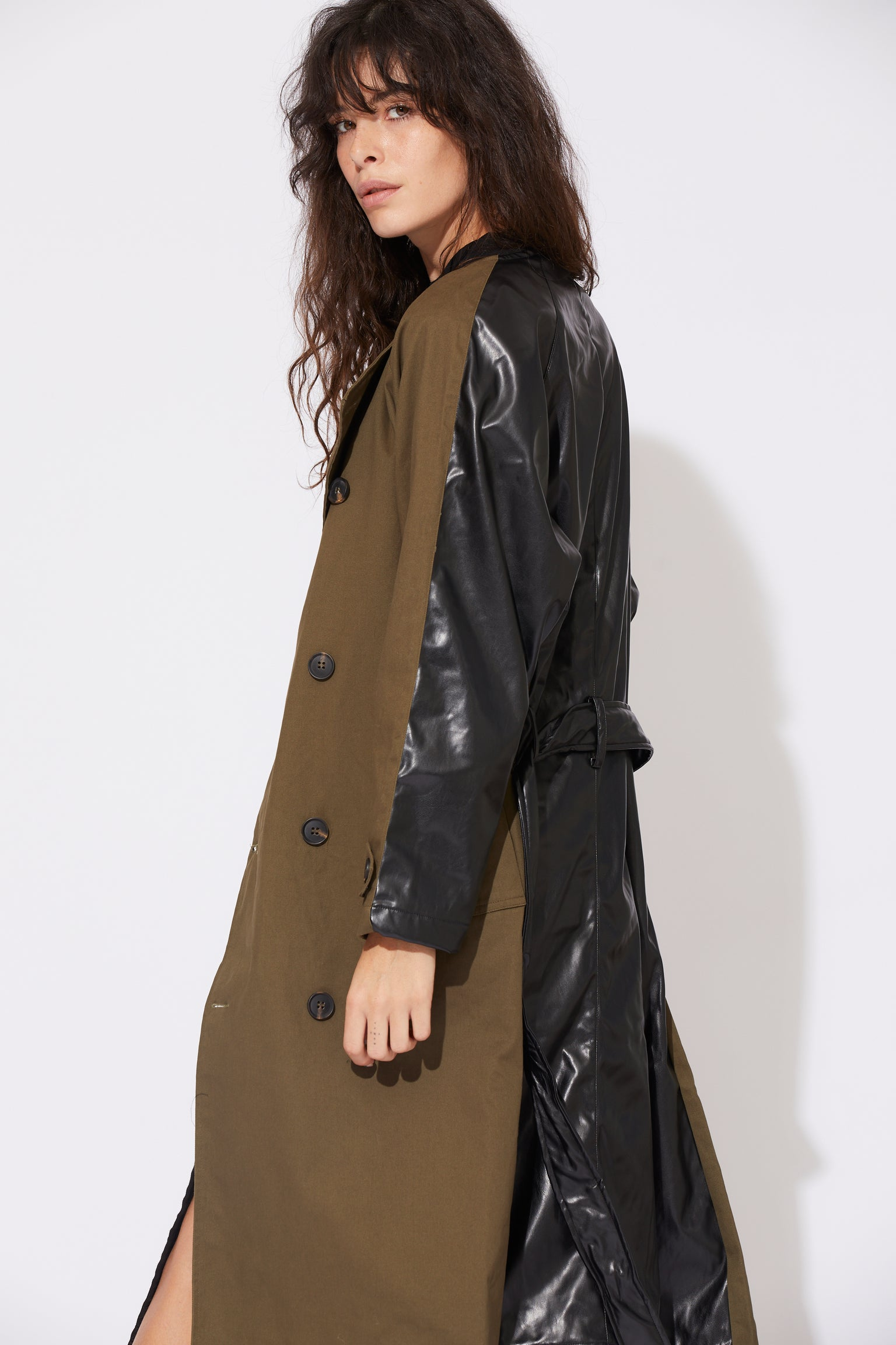 Gladys Trench Coat