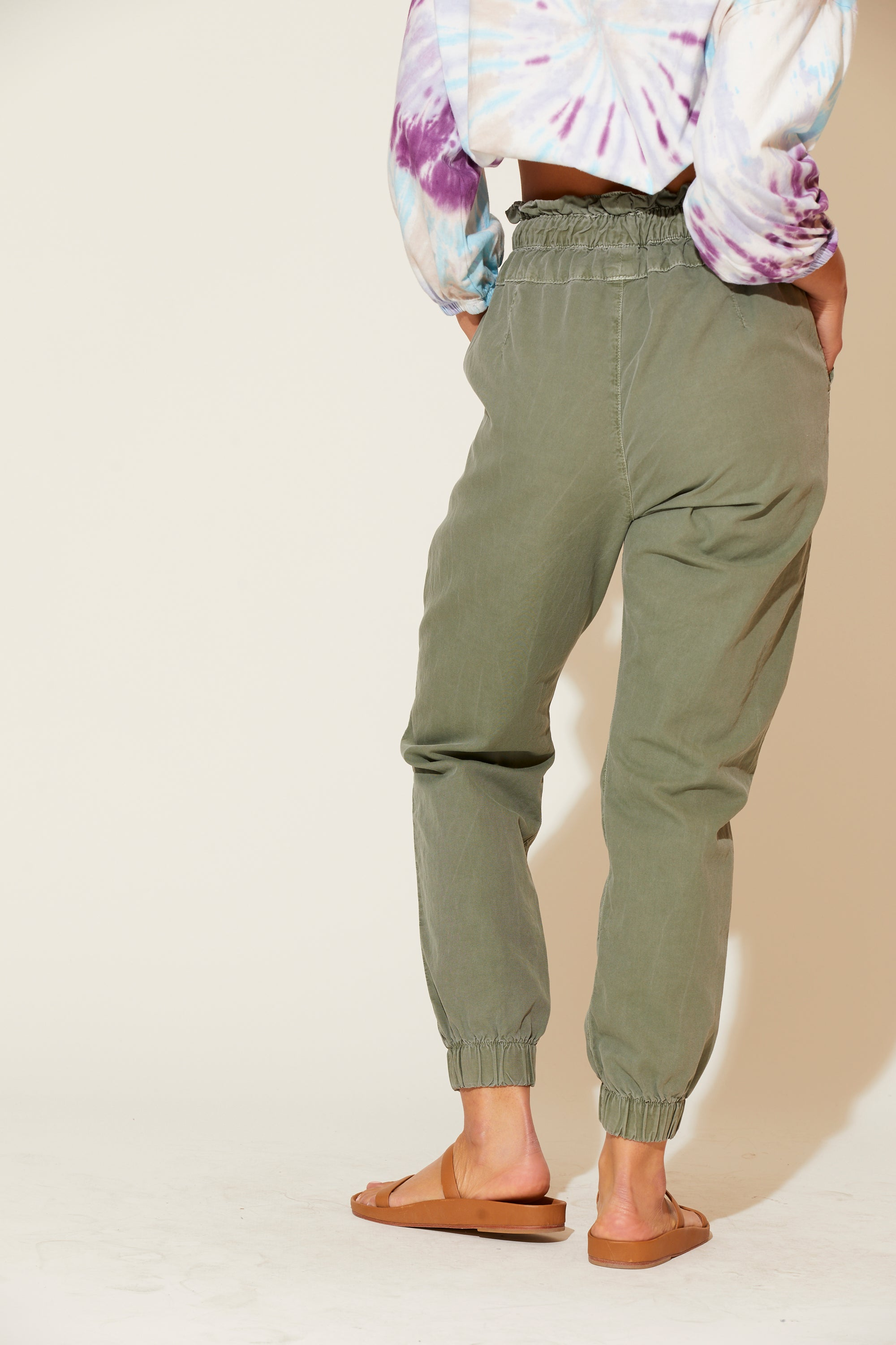 Beaudry High Waist Joggers