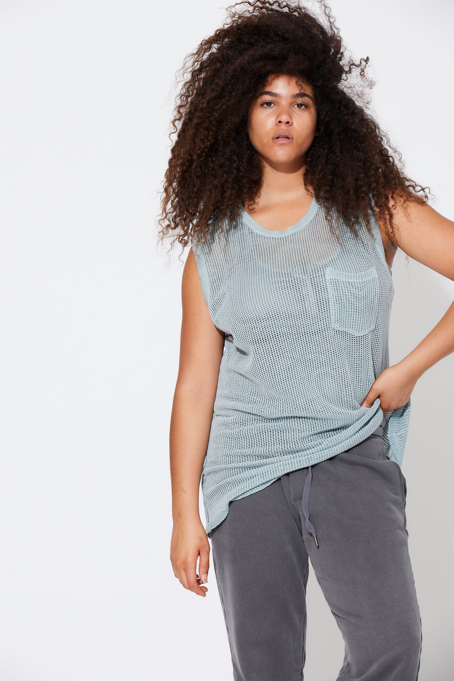 Claire Muscle Tee
