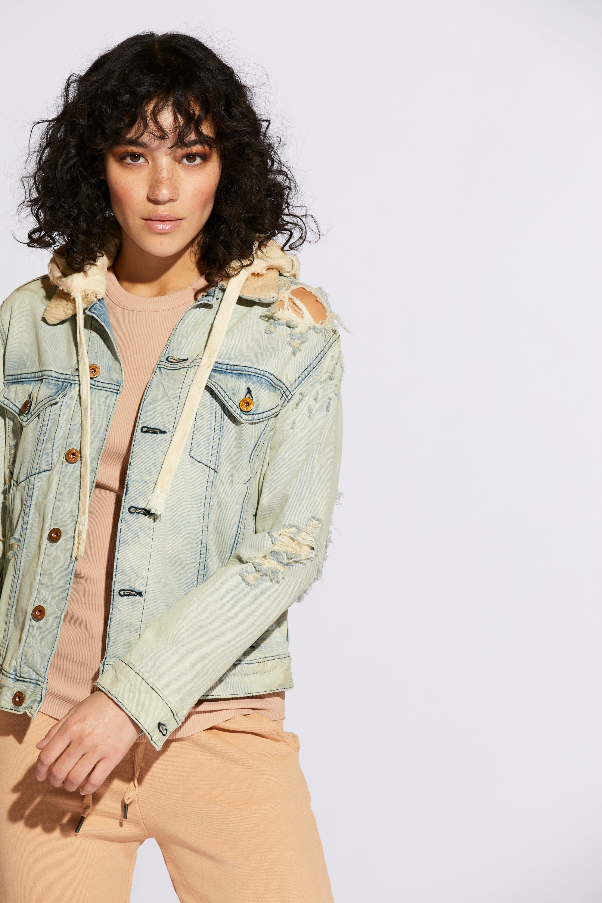 Archive Classic Denim Hooded Jacket