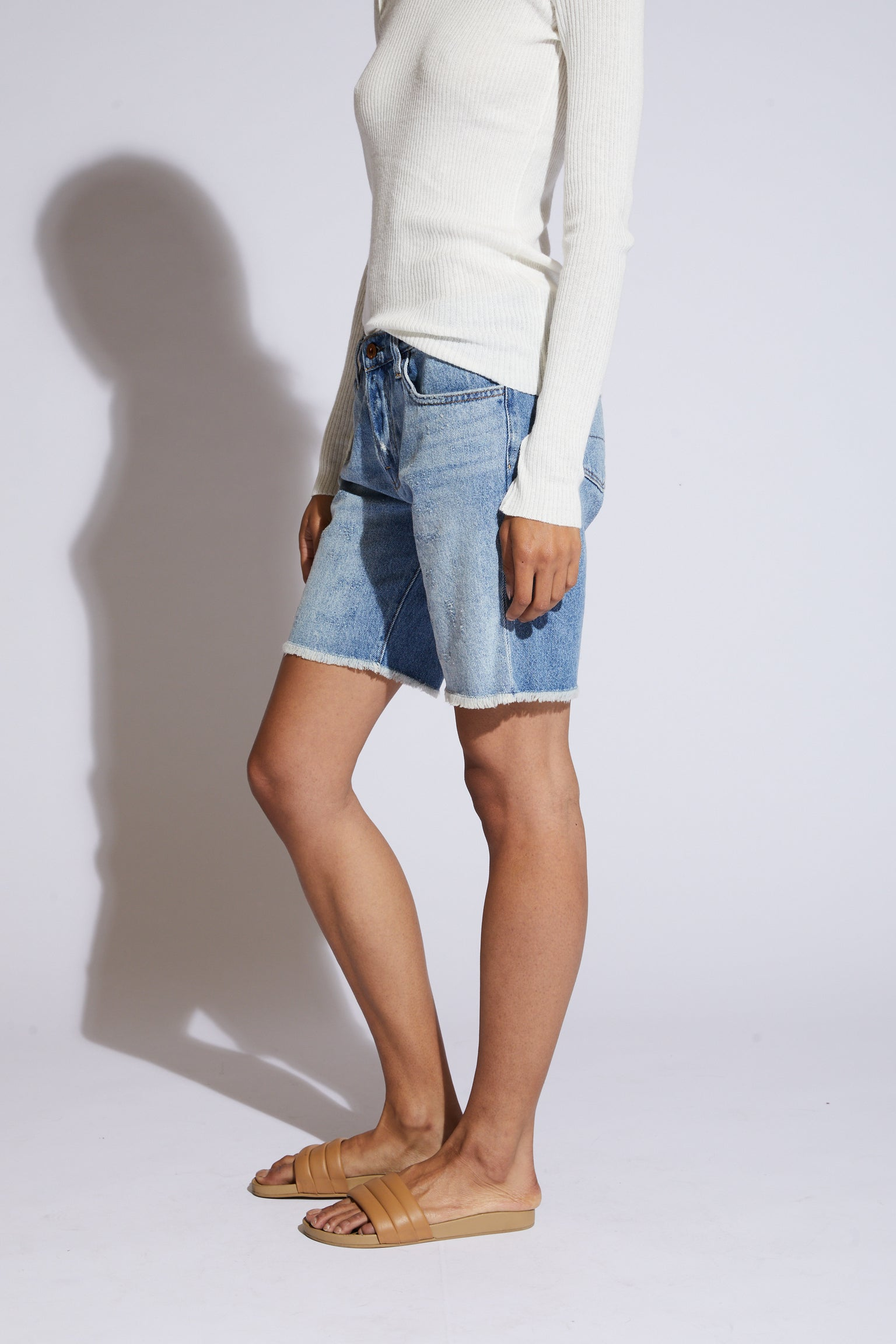 Jane Denim Shorts