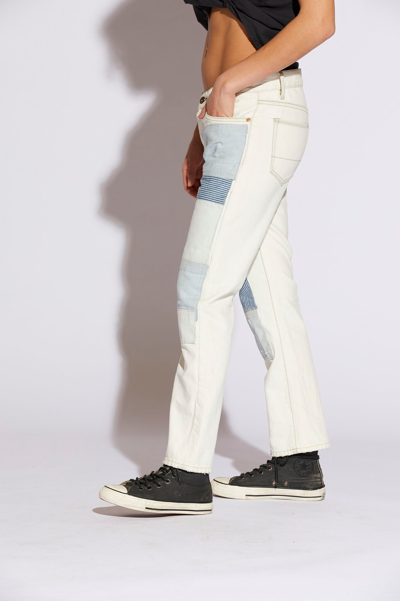 Archive Chunky Patch Jeans