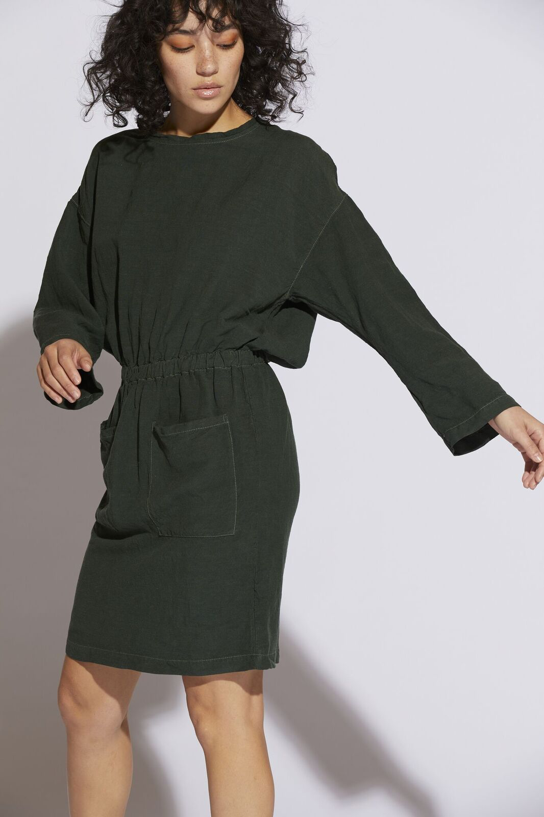 Lulyisa Drop Shoulder Dress