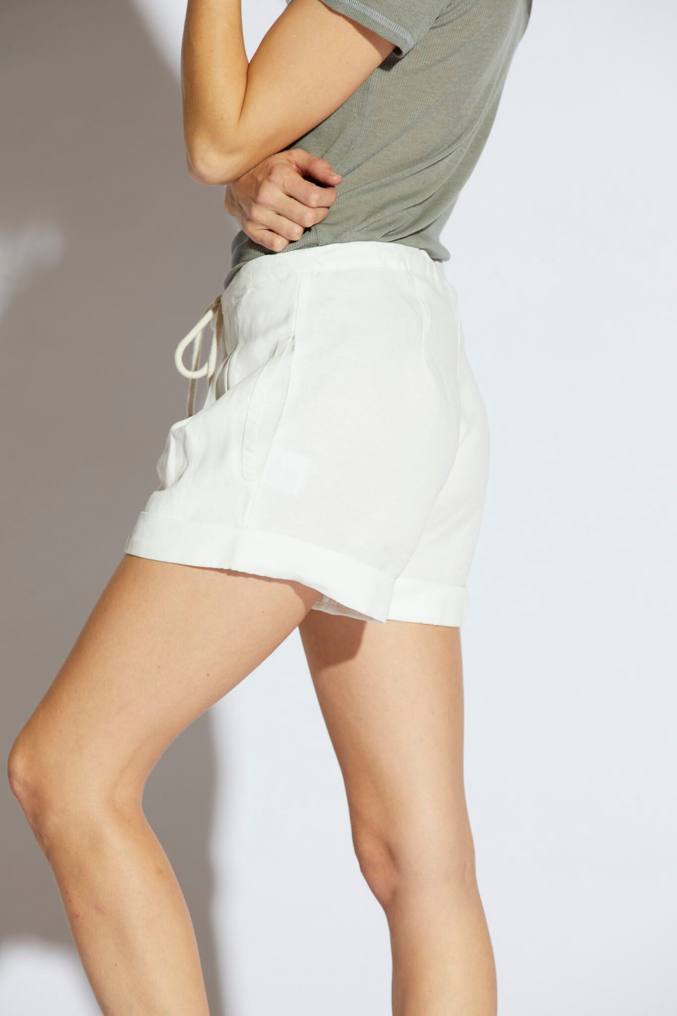Salma Pleated Shorts