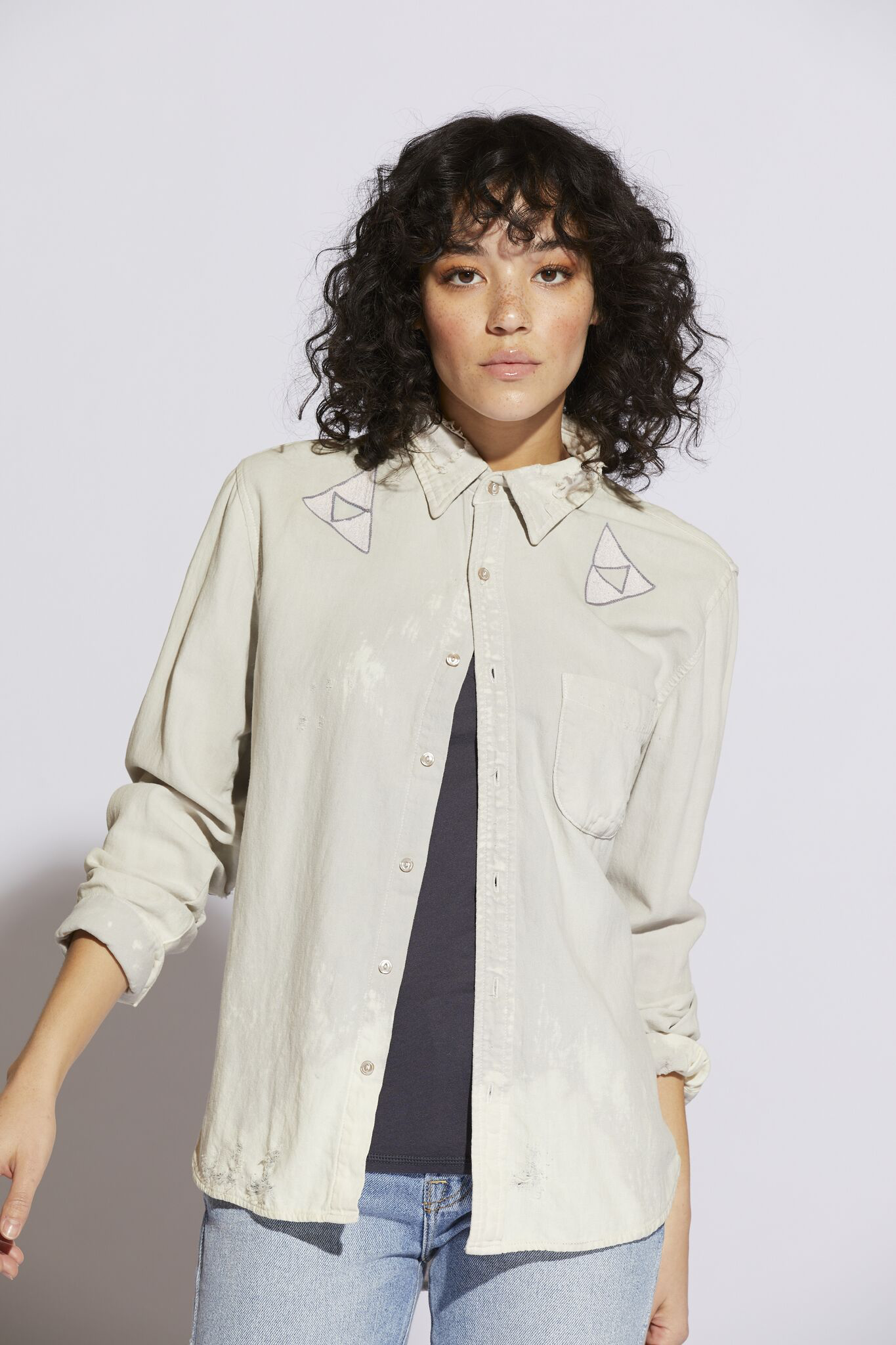Archive Bliss & Mischief Collab Button Up Shirt