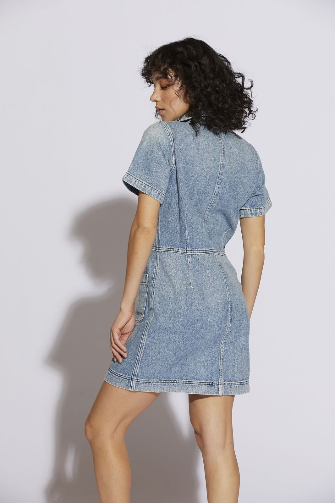 Finn Button Up Dress