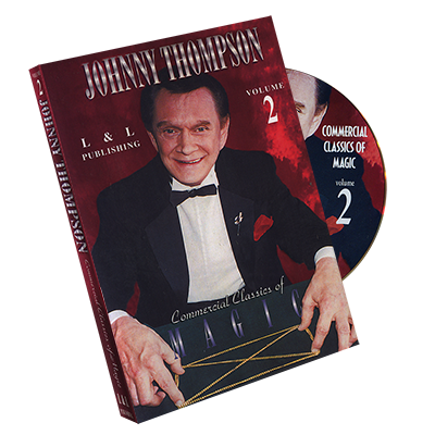 Johnny Thompson's Commercial Classics of Magic Volume 2 - DVD