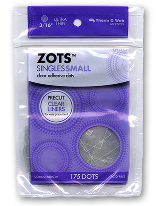 Sticky Dots Small (175 dots- 3/16 inch diameter) Bag of Singles