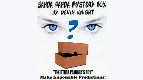 SANDA Panda Mystery Box by Devin Knight - Trick