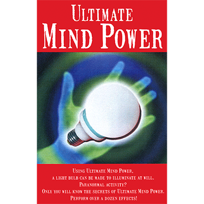 Ultimate Mind Power (GOLD, XL-23mm)by Maynard's Magic - Trick