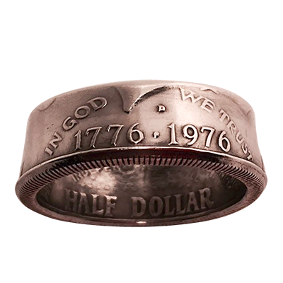 Genuine Half-Dollar Ring (13/22.33 mm)By Diamond Jim Tyler - Trick