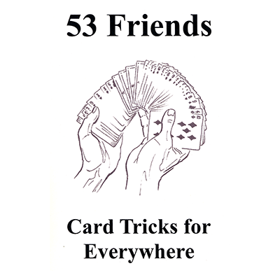 53 Friends: Cardtricks for Everywhere - Book