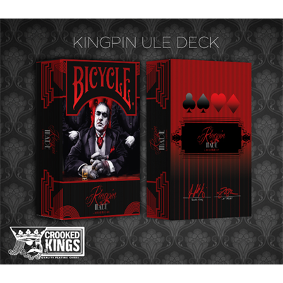 Bicycle Made Kingpin (Ultra Limited Edition) Deck by Crooked Kings Cards - Trick