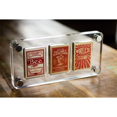 3 Deck Card Case by Gambler's Warehouse - Trick