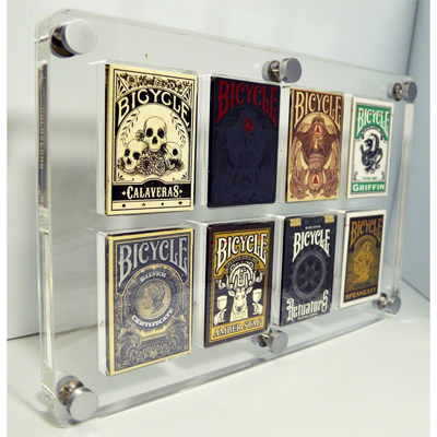 8 Deck Card Case by Gambler's Warehouse - Trick