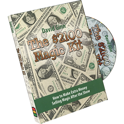 The $2100 Magic Kit by David Ginn - DVD