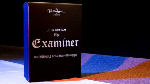 Paul Harris Presents Examiner (Gimmicks & DVD) by John Graham - Trick