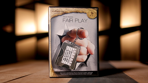 Paul Harris Presents Fair Play French (DVD and Gimmick) by Steve Haynes - Trick
